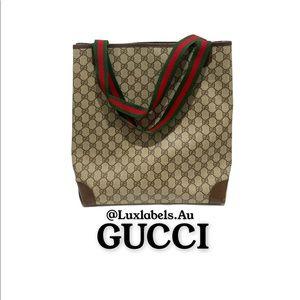 💯 Authentic Vintage Gucci Tote bag 💕